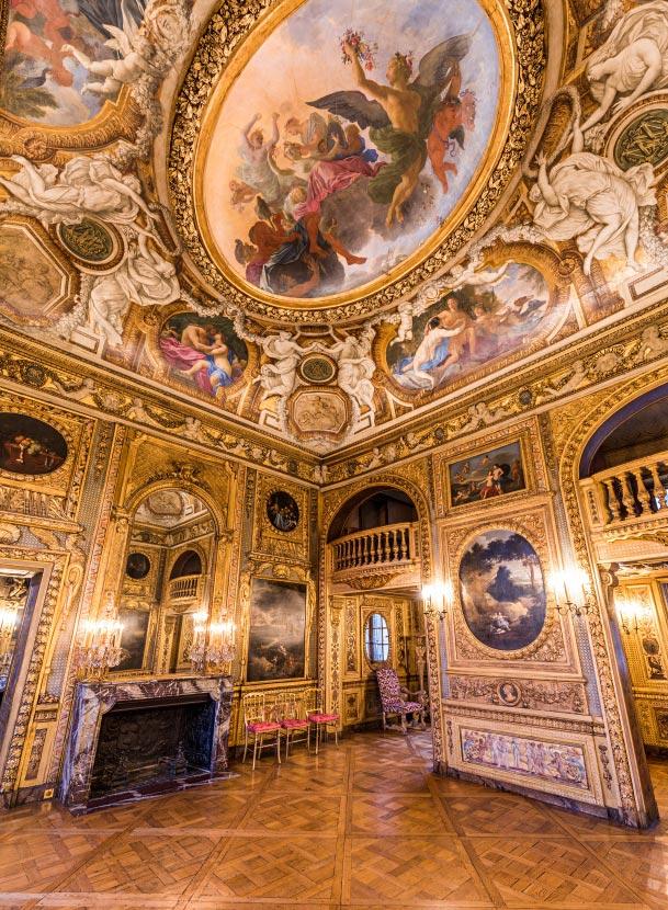 Le salon de musique et son plafond de l 39 h tel de lauzun for Salon musique paris