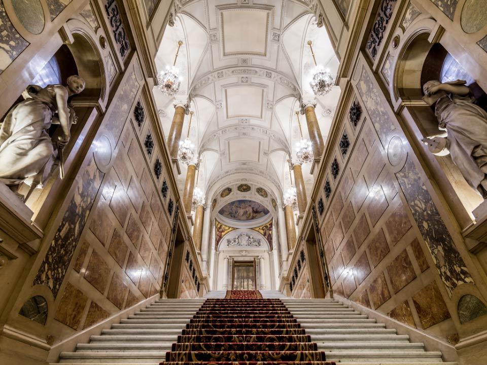 escalier d 39 honneur de l 39 h tel de ville de paris. Black Bedroom Furniture Sets. Home Design Ideas