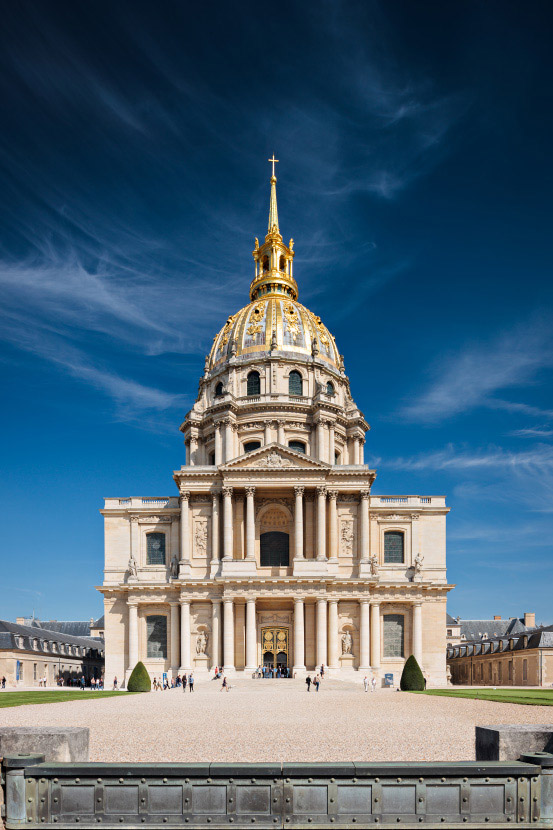 l'Hôtel des Invalides de face - Photo des Invalides