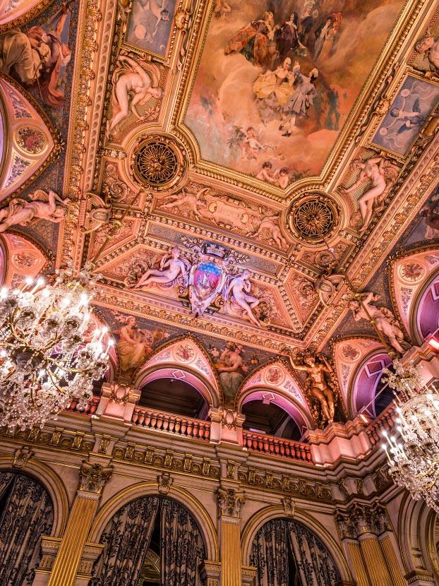 Plafond de la salle des f tes de l 39 h tel de ville de paris - Hotel miroir plafond paris ...