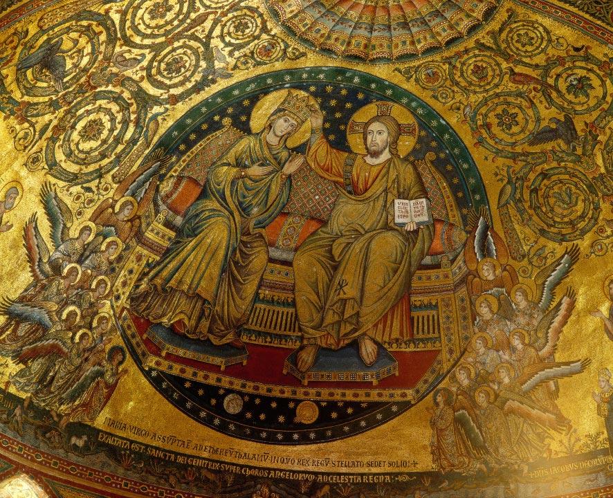 Mosa que de la basilique sainte marie majeure rome for Comment coller de la mosaique